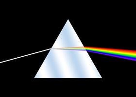 Разложение света на спектр (опыт Ньютона)